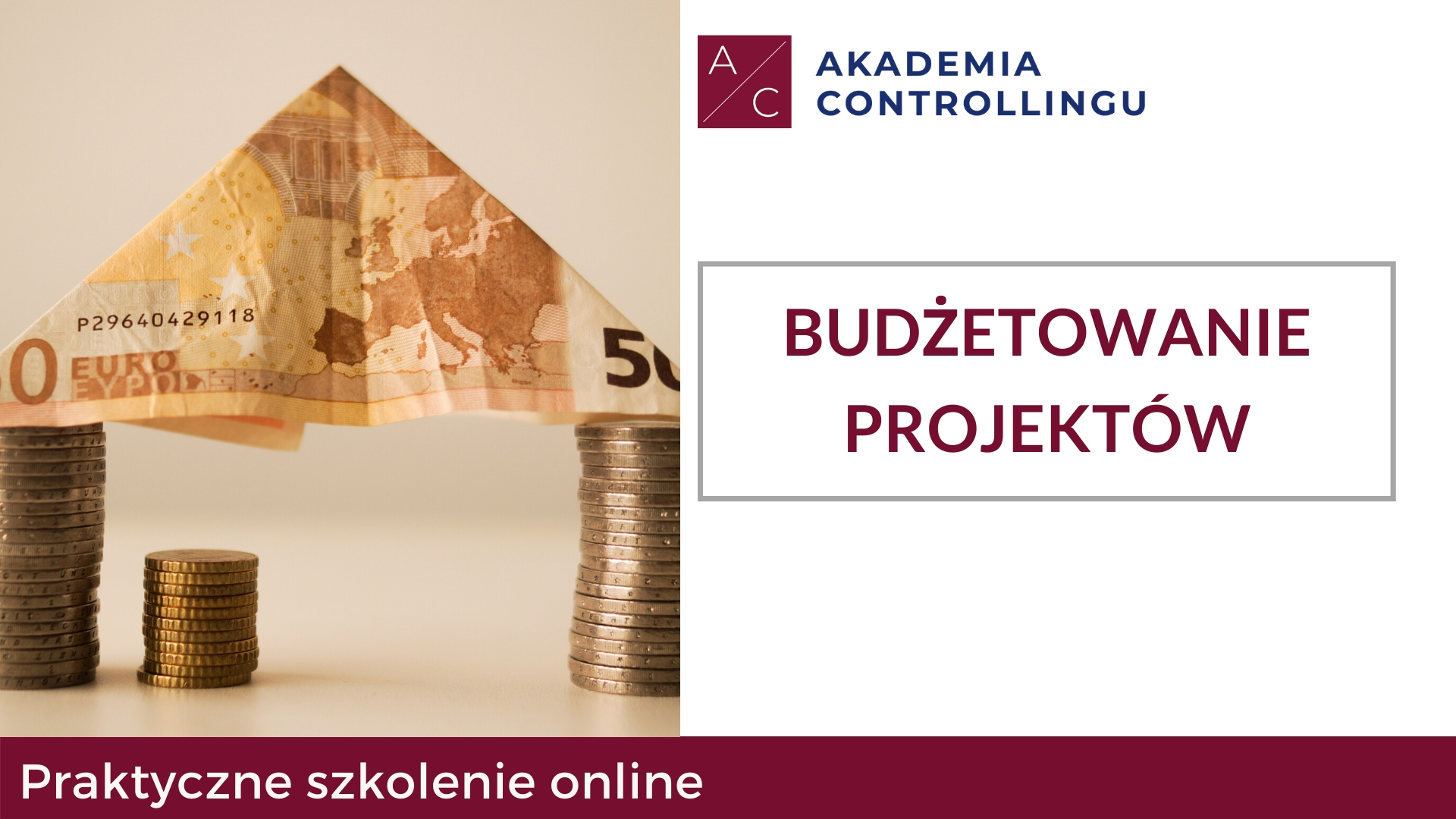 Budżetowanie projektów - szkolenie online